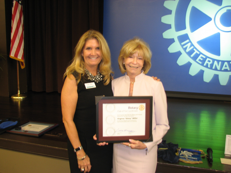 Ginny Miller received a PHF as our Community Hero Award recipient.